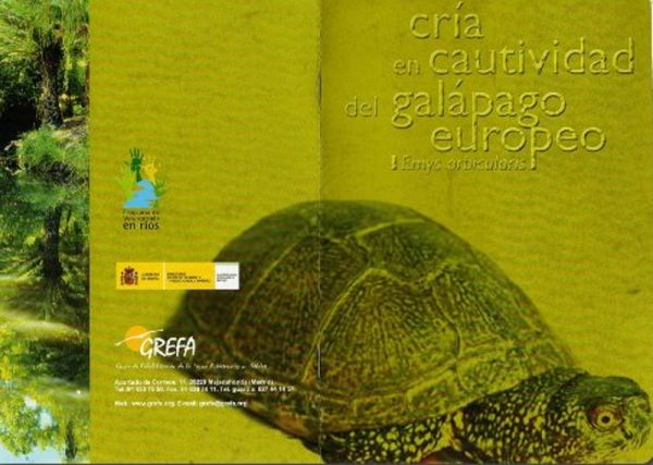 Manual de cría del galápago europeo